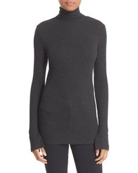 Split cuff knit turtleneck medium 963954