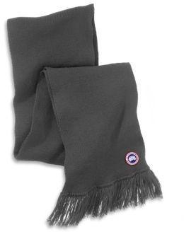 ... Canada Goose Merino Wool Knit Scarf ...