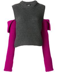 Calvin Klein 205w39nyc Open Shoulder Knit Jumper