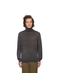 Hugo Grey Wool San Antonio Turtleneck