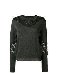 See by Chloe See By Chlo Lace Panel Sweater