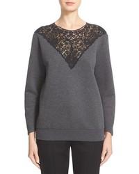 Stella McCartney Lace Inset Sweatshirt