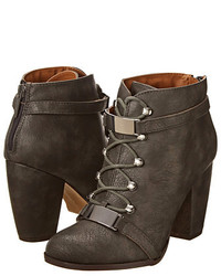 Charcoal lace up ankle boots original 9286799