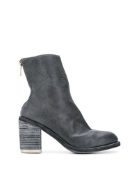 Guidi Back Zip Ankle Boots
