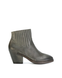 Del Carlo Curved Ankle Boots