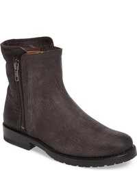 Frye Natalie Textured Double Zip Bootie