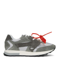Off-White Grey Hg Runner Sneakers