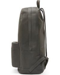 94bbde949bf Pb 0110 Gray Matte Leather Backpack   Where to buy   how to wear