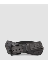 AllSaints Croft Slim Belt