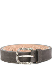 Etro Pattern Embossed Buckle Belt