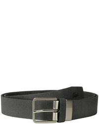 Lacoste Spw Leather Pique Belt Embossed Croc