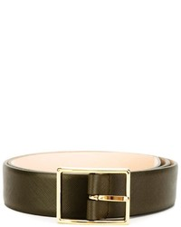 Versace Rectangle Buckle Belt