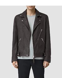 AllSaints Barassie Leather Biker Jacket