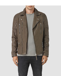 AllSaints Yuku Leather Biker Jacket