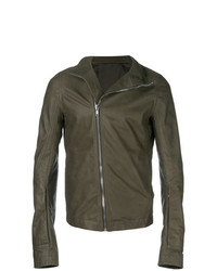 Rick Owens Mollino Leather Biker Jacket