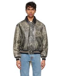 Diesel Black Leather D4d 2 Jacket