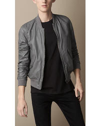 Paul Smith Ps By Leather Bomber Jacket | Where to buy & how to wear