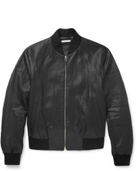Paul Smith Slim Fit Coated Linen Bomber Jacket