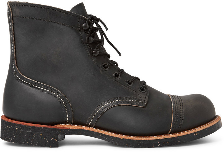 Stivaletto Iron Ranger grigio scuro Red Wing Shoes fDwvNkikVn