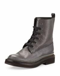 Brunello Cucinelli Monili Trim Lace Up Boot