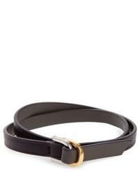 WANT Les Essentiels Arlanda Leather Double Wrap Bracelet
