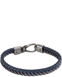 Tod's Tods Braided Leather Bracelet