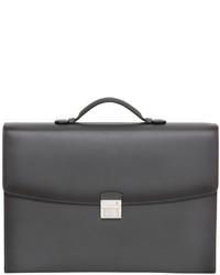Leather single gusset briefcase medium 5423622