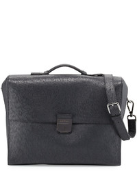 Revival 20 leather briefcase gray medium 610012