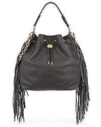 Deux Lux Joplin Fringe Bucket Bag