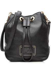 Marc by Marc Jacobs Leather New Too Hot To Handle Drawstring Bucket Bag