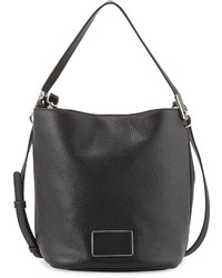 Marc by Marc Jacobs Ligero Leather Bucket Bag Black
