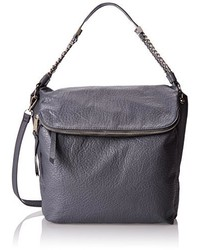 Jessica Simpson Lulu Convertable Flap Bucket Shoulder Bag