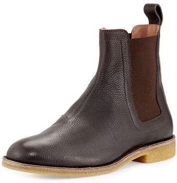 ffcddc7e444 $790, Bottega Veneta Grained Leather Chelsea Boot
