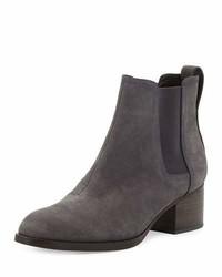 Walker nubuck chelsea boot charcoal medium 1246673