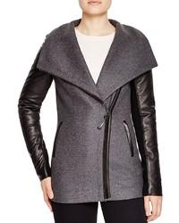 Mackage Odilia Leather Sleeve Coat