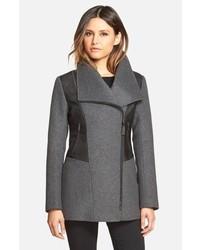 Mackage Wide Collar Wool Blend Coat