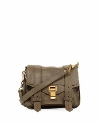 Proenza Schouler Ps1 Leather Crossbody Bag Light Brown