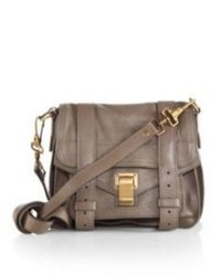 Proenza Schouler Ps1 Pouch Leather Crossbody Bag