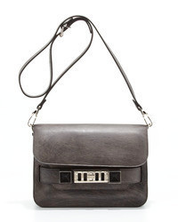 Proenza Schouler Ps11 Mini Chalkboard Shoulder Bag Dark Gray