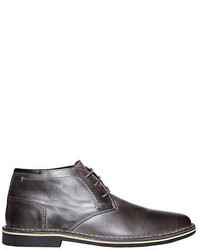 b48d13a5314 Men's Charcoal Leather Boots by Steve Madden   Men's Fashion ...