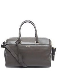 Yves Saint Laurent Pre Owned Saint Laurent Grey Small Duffle Bag