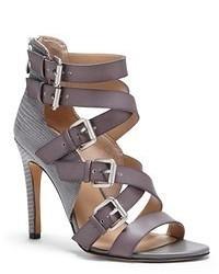 Sole Society Ashton Textured High Heel Sandal