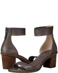 Frye Brielle Back Zip Sandal High Heels