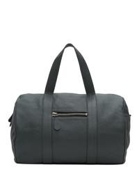 Maison Margiela Grey Leather Duffle Bag