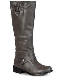 Journee Collection Asiana Wide Calf Tall Boots