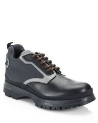 Leather nylon hiking boots medium 4395779