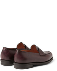 9028216cdf9 ... John Lobb Lopez Leather Penny Loafers ...