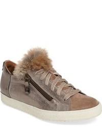 Paul Green Madison Genuine Rabbit Fur Sneaker