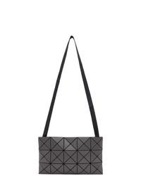 Bao Bao Issey Miyake Grey Matte Lucent Messenger Bag