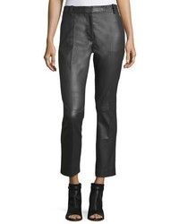 Joseph Zoom Stretch Leather Trousers